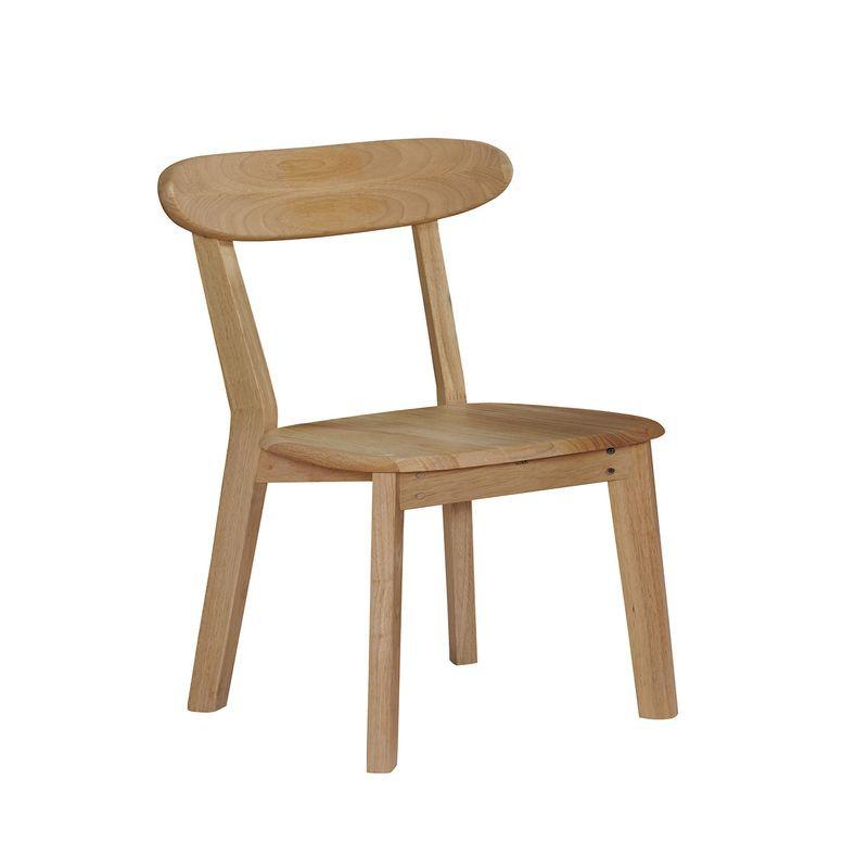 【GB721-13】華晶原木色實木餐椅