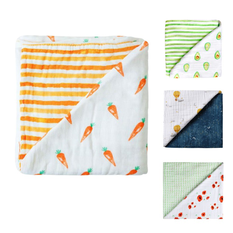美國 Malabar baby 有機棉被毯(4款可選)