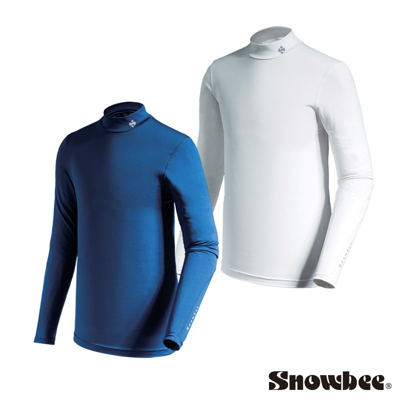 Snowbee 保暖素面長袖合身內搭衣