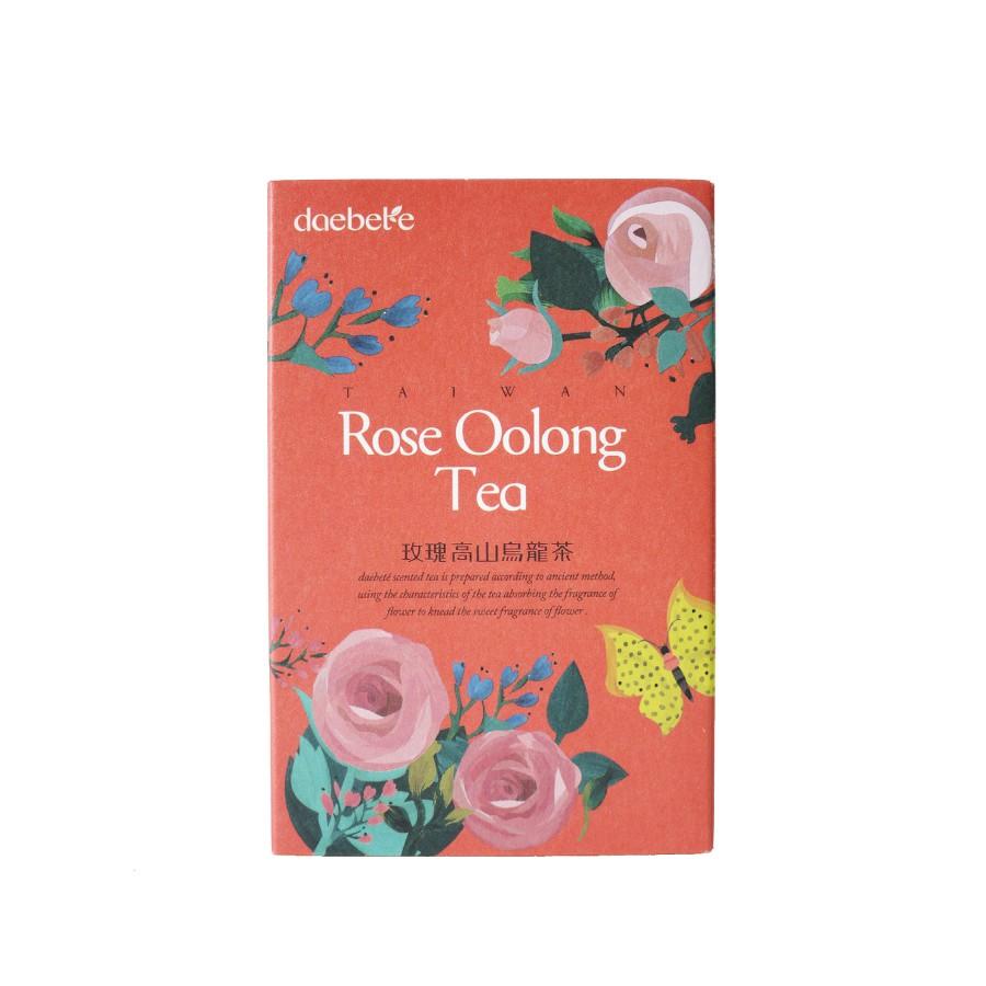 【daebeté】玫瑰花高山烏龍茶輕巧盒-窨花茶系列(茶葉/7g/5入)