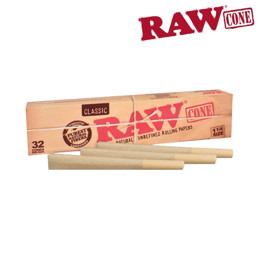 【石頭人】西班牙RAW CLASSIC PRE ROLLED CONES 1 1/4 (32入) 預捲