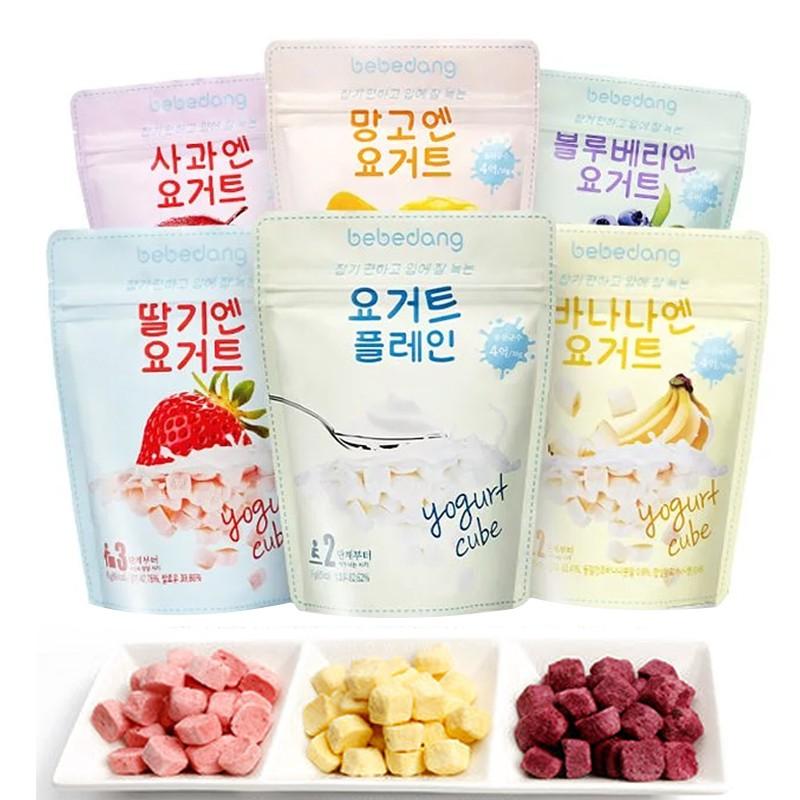 韓國 bebedang 寶寶優酪球 優格球 優格豆豆餅 水果優格餅乾 副食品 0425 嬰兒餅乾
