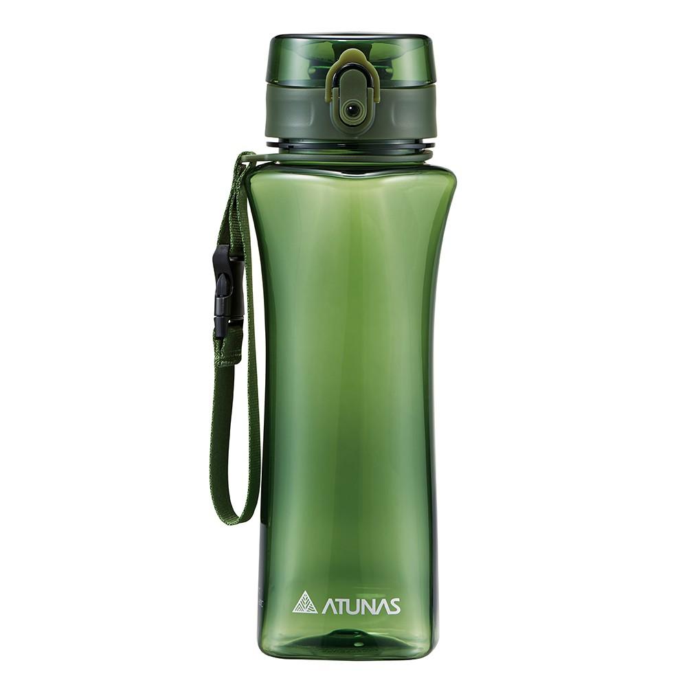 【ATUNAS 歐都納】玩美曲線運動瓶700ML (A1KTBB02N 墨綠/TRITAN/提環/不殘留異味/無毒)