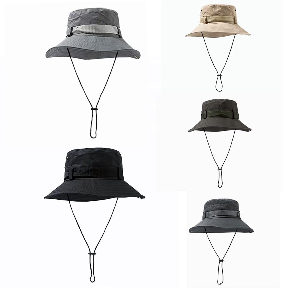 【K-2】遮陽 穿搭 戰術 登山客 機能 漁夫帽 野戰 街頭 潮流 工娤搭配 男女不拘 帽子 配件【KP293】