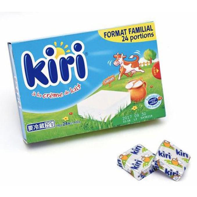 KIRI CREAM CHEESE 乾酪點心18GX24PK  需低溫配送無法超取 C564556
