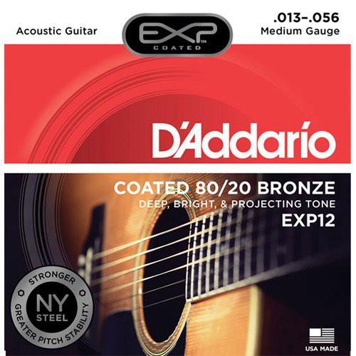 DAddario DDXF-EXP12 黃銅民謠木吉他套弦【敦煌樂器】