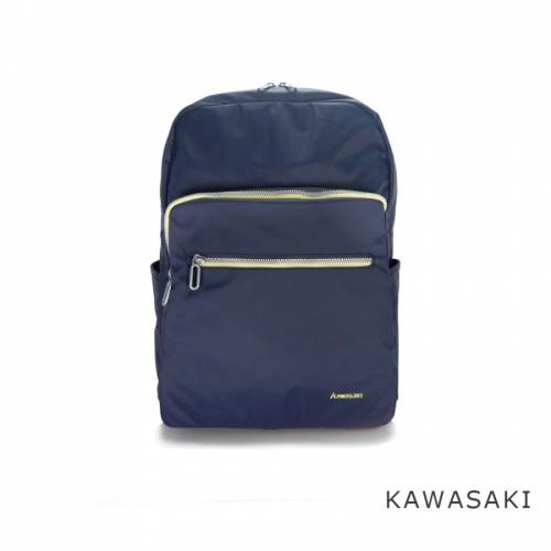 加賀皮件 KAWASAKI 15.6吋 超耐用防潑水商務電腦包 休閒/後背包 KA190