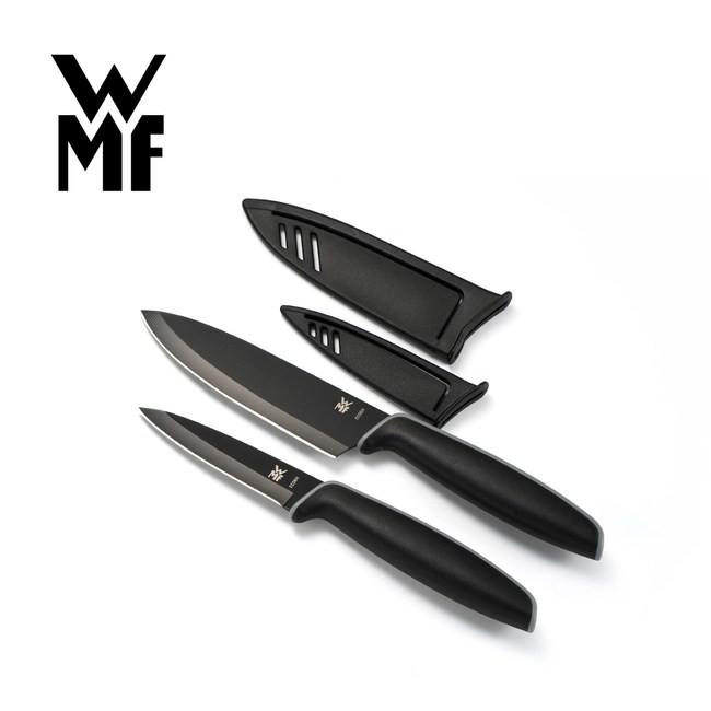 【德國WMF】TOUCH 不鏽鋼雙刀組(附刀套)(9CM/13CM)