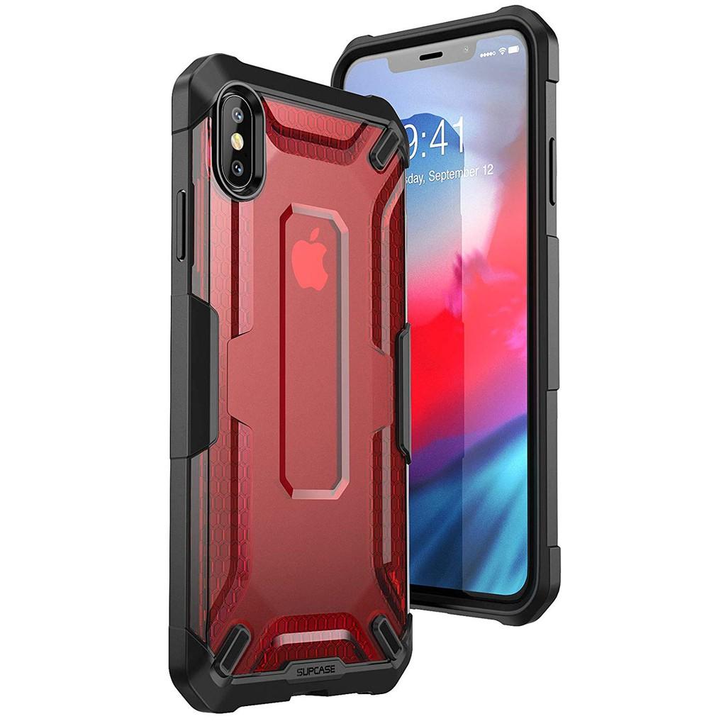 Apple iPhone SUPCASE iPhoneXs Max-6.5 Unicorn 軍規手機保護殼 紅