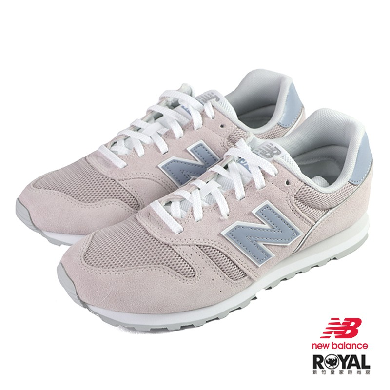 New balance 373 玫瑰粉色 麂皮 休閒運動鞋 女款NO.J0539【新竹皇家 WL373DC2】