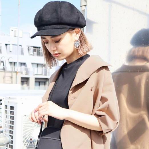EMODA〔K03H8-601〕報童帽(2色)