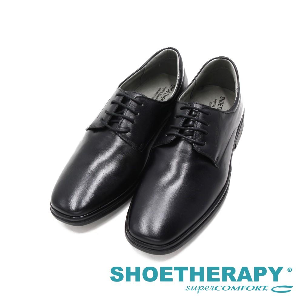 SAPATOTERAPIA巴西經典素面繫帶紳士皮鞋 男鞋-黑