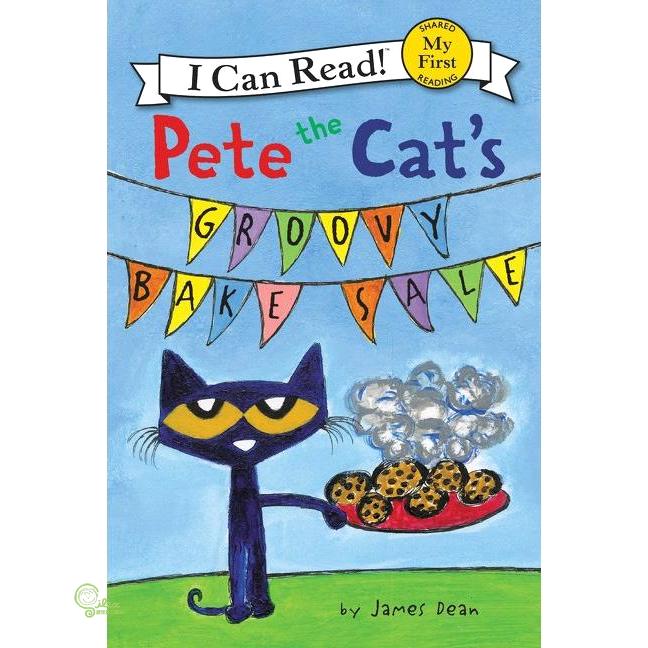 Pete the Cat's Groovy Bake Sale (平裝本)【禮筑外文書店】[79折]