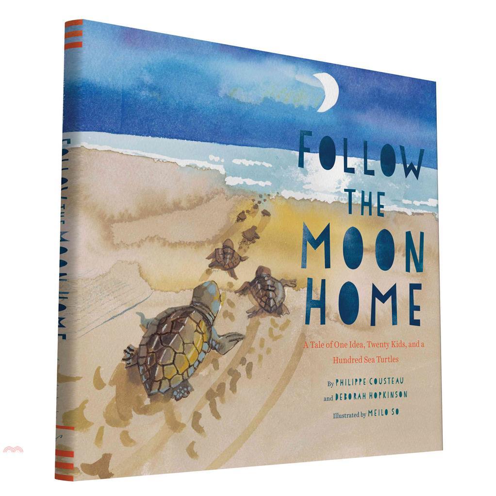 Follow the Moon Home ─ A Tale of One Idea, Twenty【三民網路書店】