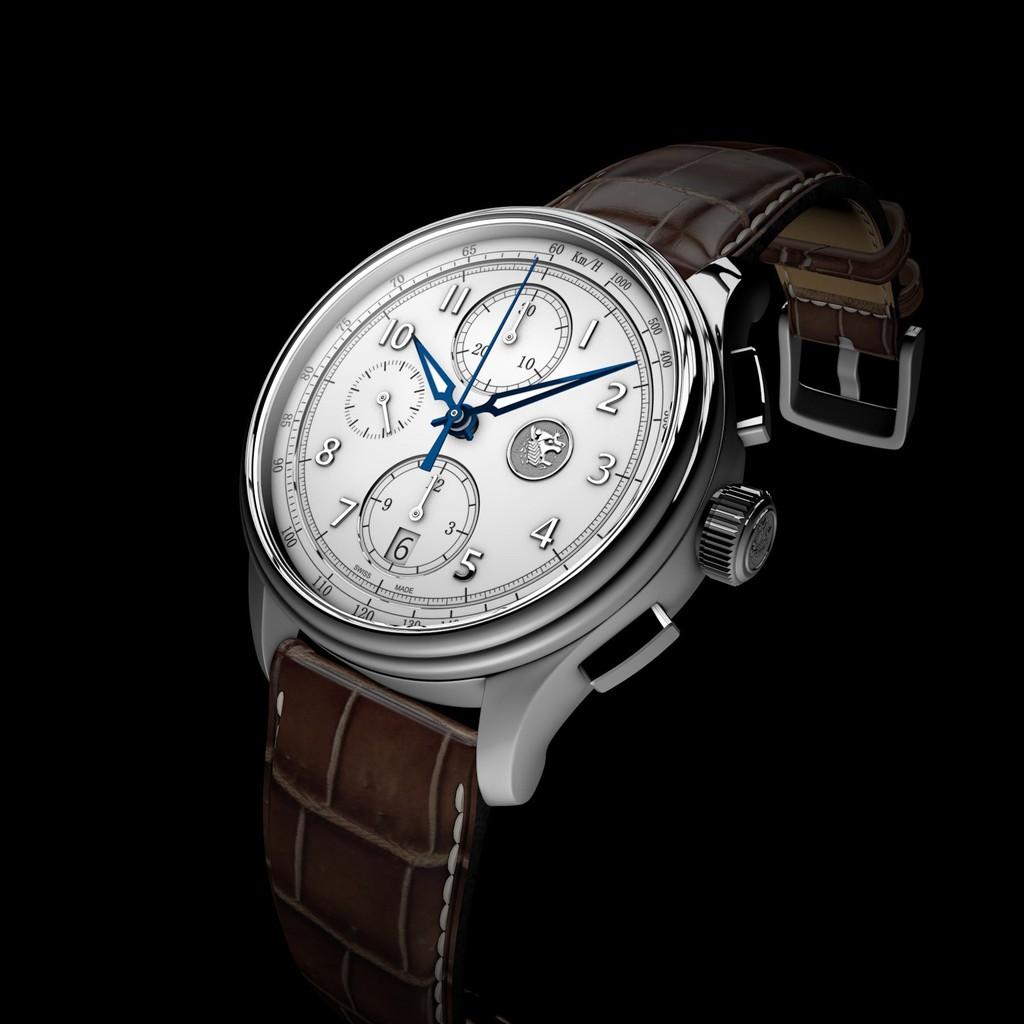 【瑞士伯諾瓦BORNOVA】Ephesos 艾索斯  7750 專業計時系列 42mm