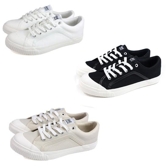 KANGOL 男款 三色 休閒鞋 帆布鞋 60212002-00白/20黑/31奶茶 Sneakers542