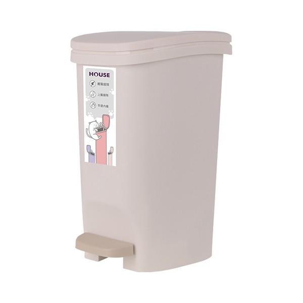 暖暖貓緩降踏式垃圾桶8L  【大潤發】
