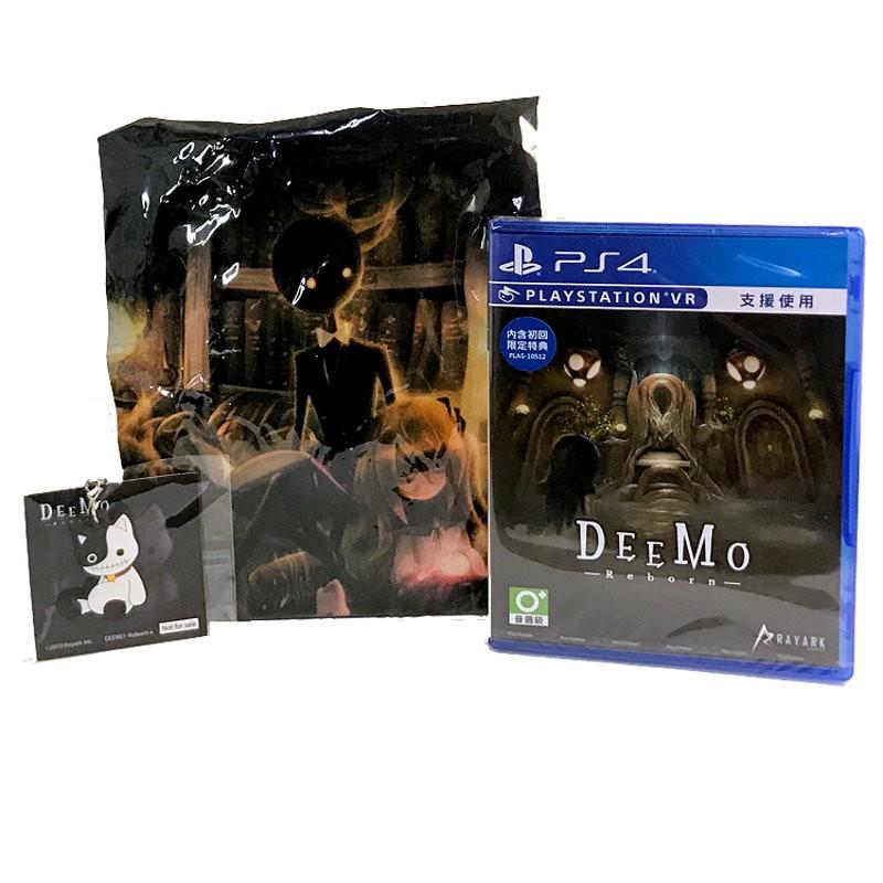 PS4原版片【附特典束口袋+主題+吊飾】 DEEMO Reborn 中文版全新品【支援VR】台中星光電玩