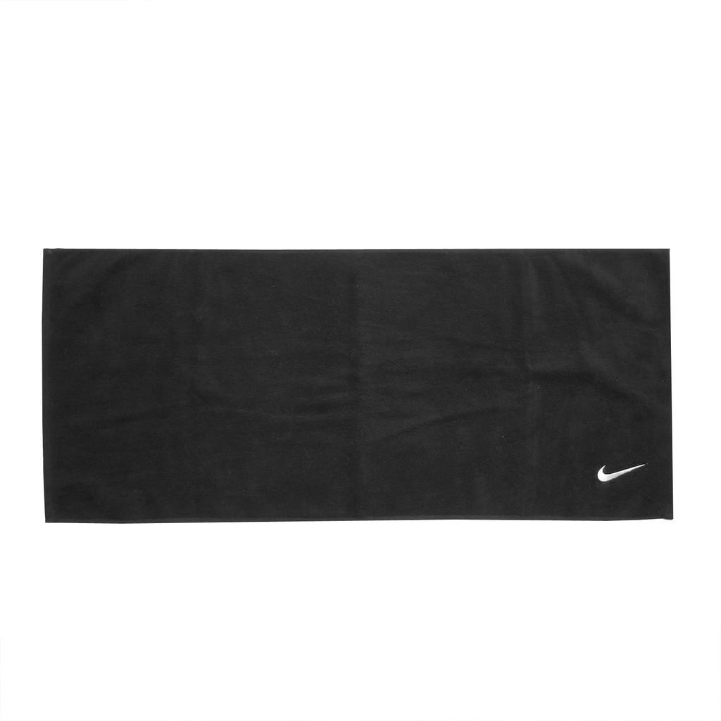 Nike 毛巾 Solid Core Towel 黑 白 運動毛巾 純棉 盒裝 N100154101-0NS 【ACS】