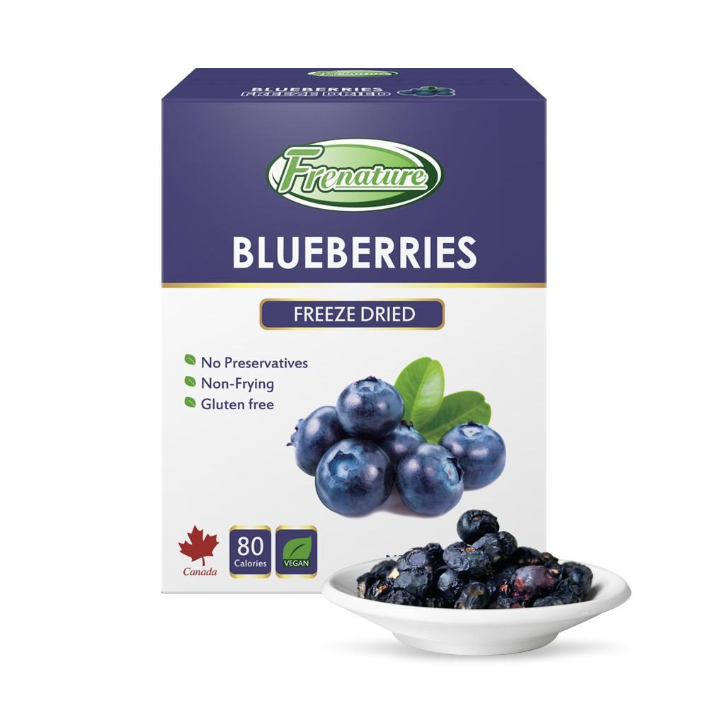 Frenature富紐翠-加拿大藍莓翠鮮果凍乾20g(冷凍真空乾燥水果乾)