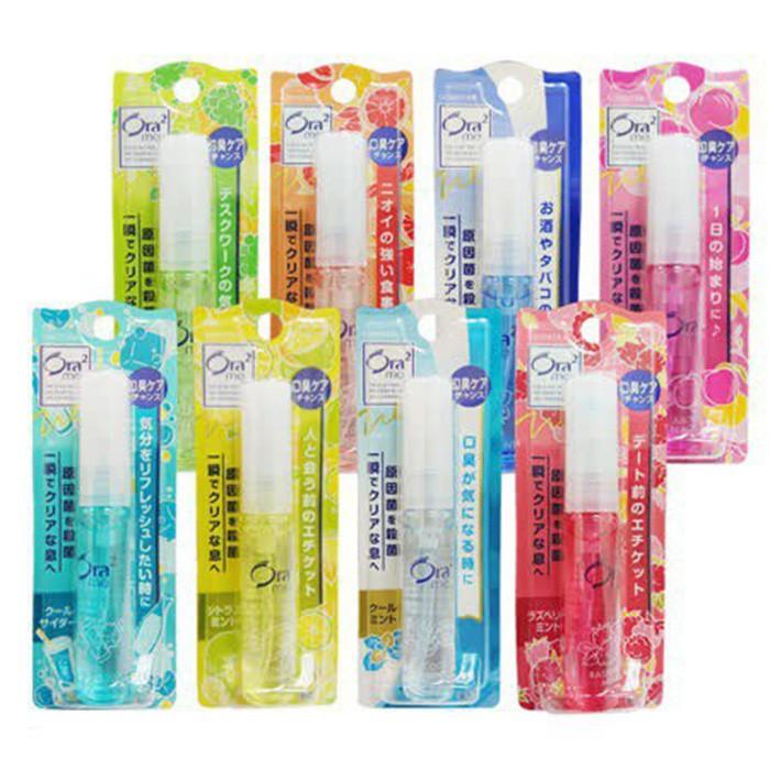 日本 Ora2 Sunstar 清新噴霧 6ml 口氣芳香噴劑 口香噴霧 口香噴劑 口氣芳香噴霧