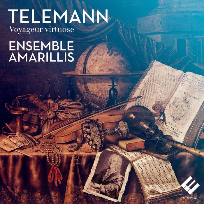 泰勒曼 旅行演奏名家 Telemann Voyageur Virtuose EVCD041