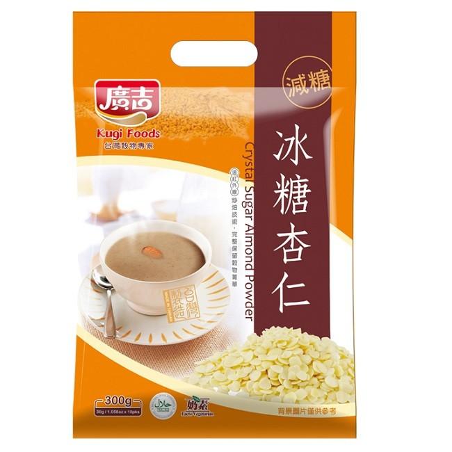廣吉減糖冰糖杏仁30gx10包/袋  【大潤發】