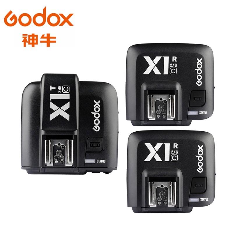 Godox 神牛 X1 閃光燈無線電TTL 觸發器+接收器 1對2 X1C X1N X1S 相機專家 [開年公司貨]
