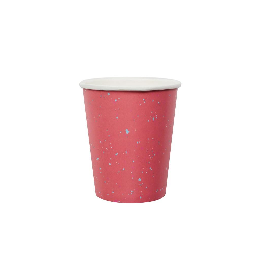 【 珊瑚石派對紙杯】生日派對 野餐餐具 派對用品 活動佈置 網美擺盤 免洗紙杯 Party 露營 自己辦派對