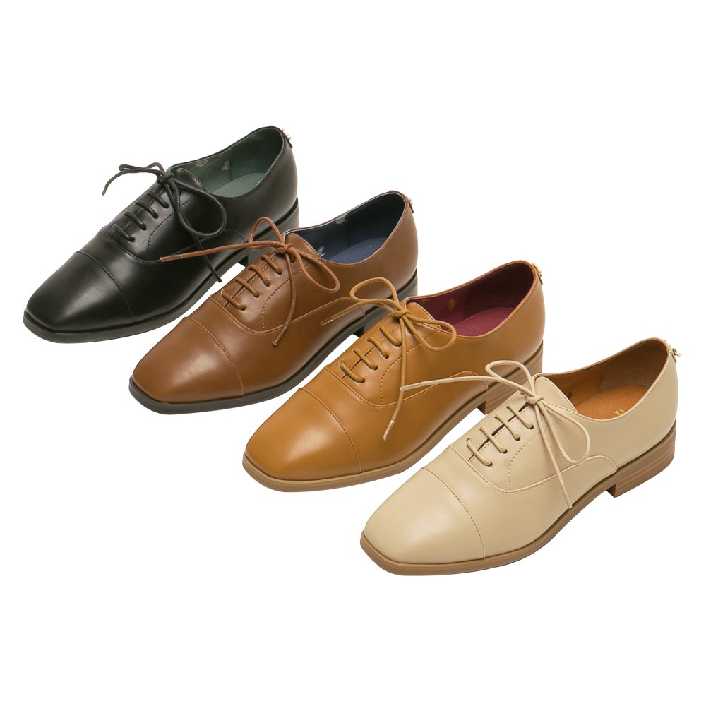 Grace gift-哈利波特學院低跟牛津鞋