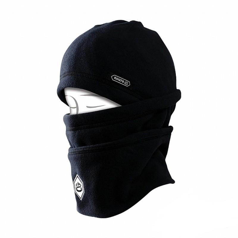 Route8 POLAR HAT 兒童多功能刷毛保暖帽 (黑色)[RE922011-BLK]
