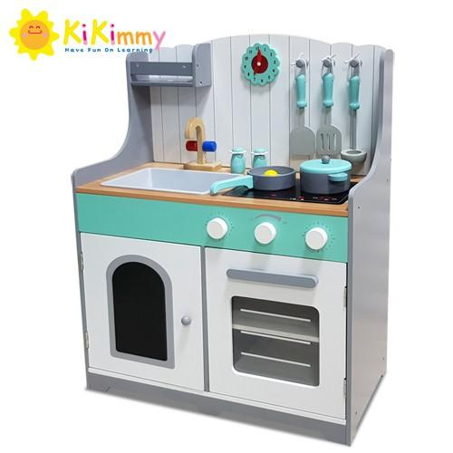 Kikimmy 格陵蘭鄉村木製廚房玩具組K352 (廠商直送)