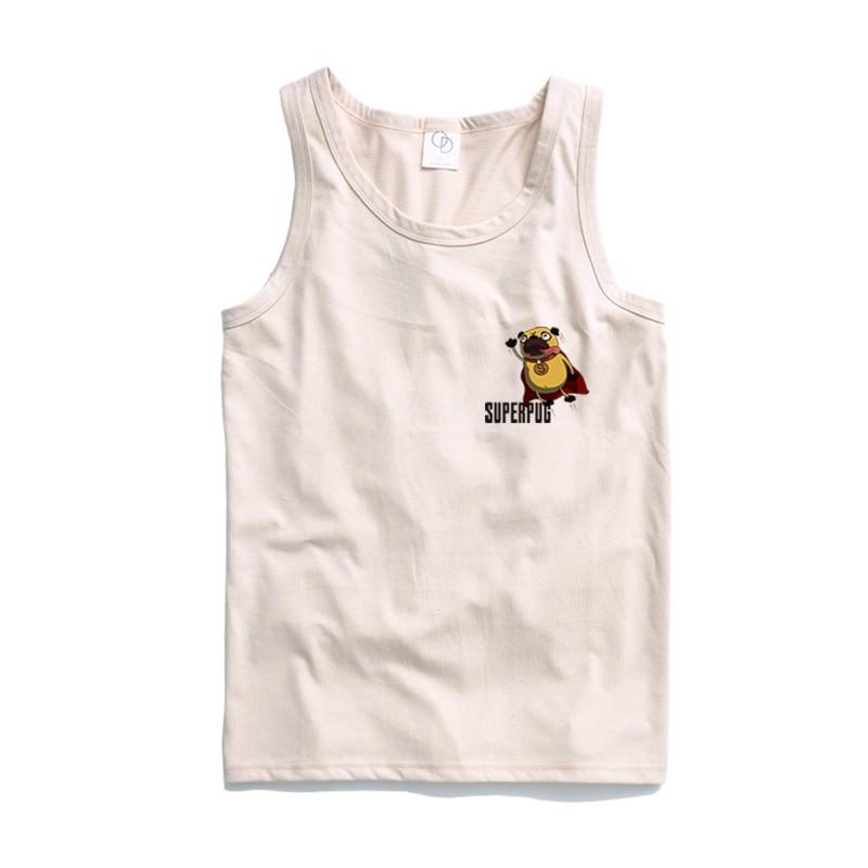 ONE DAY 台灣製 162C194 素背心 寬鬆衣服 短袖衣服 衣服 T恤 短T 素T 寬鬆短袖 背心 透氣背心