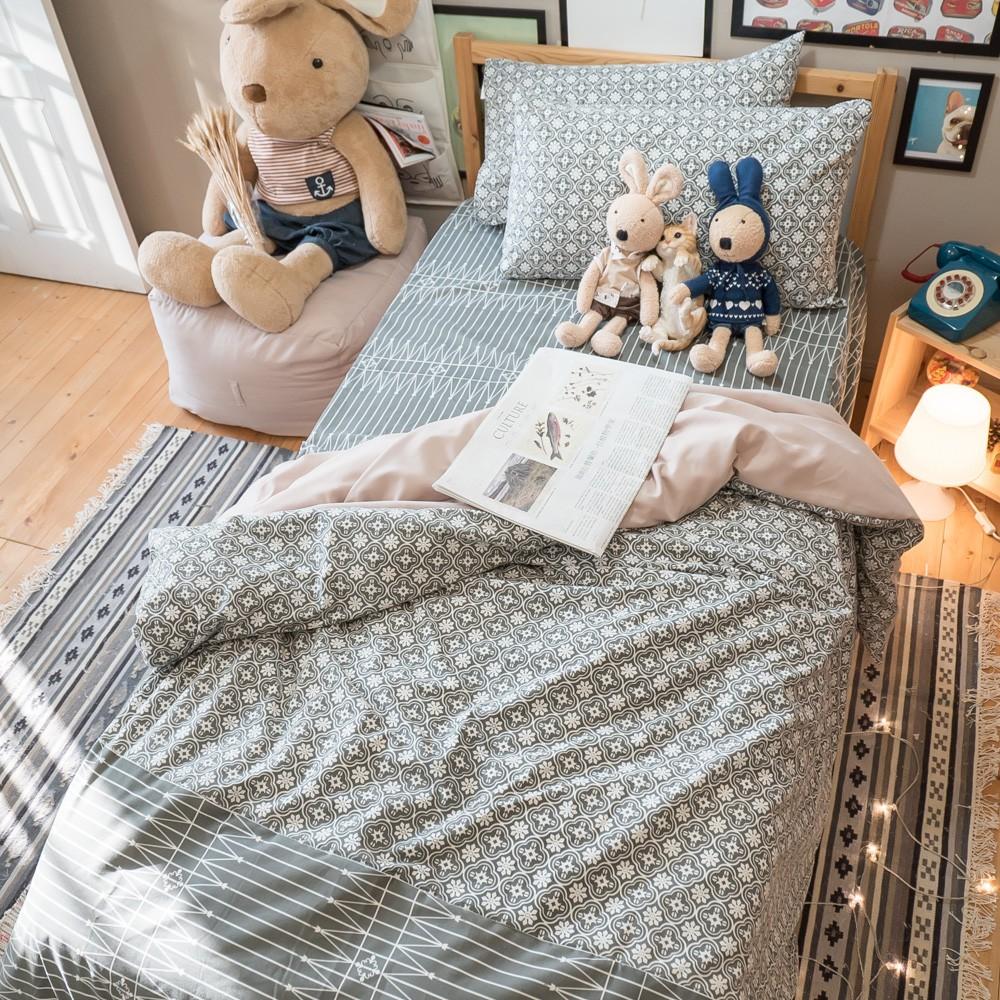 海棠花 枕頭套乙個 舒適磨毛材質 台灣製 棉床本舖