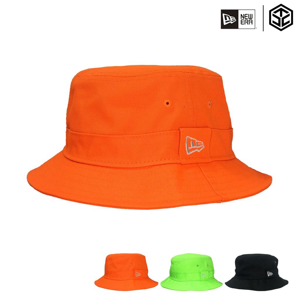 NEW ERA 漁夫帽 素面漁夫帽 螢光色系 螢光漁夫帽 平頂漁夫帽 螢光帽【TCC】