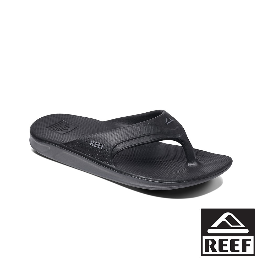 REEF 防水橡膠系列側邊織帶男款夾腳人字拖鞋 - 黑 S21 RF0A3ONCBLA 廠商直送 現貨
