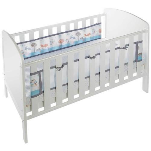 英國 BreathableBaby 透氣嬰兒床圍 兩側型-海洋帆船[免運費]