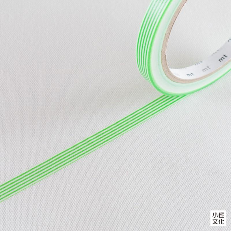 【mt】日本進口  sealer 和紙膠帶 - 條紋 青綠 (MTSEA032)