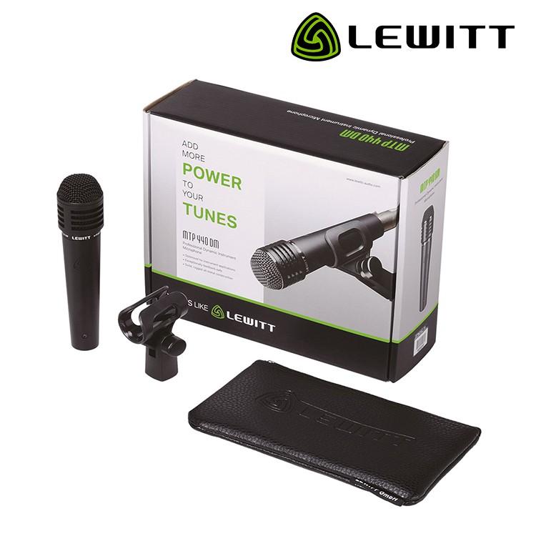 【全館折300】送原廠麥夾 Lewitt MTP 440 DM 手持動圈麥克風 心型 動圈式 樂器收音 MTP-440