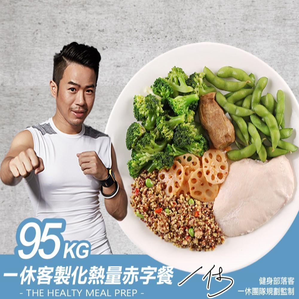95kg一休客製化熱量赤字餐 一周菜單計畫 跟著一休七天14餐 肉品 蔬菜 輕食 低熱量 廠商直送