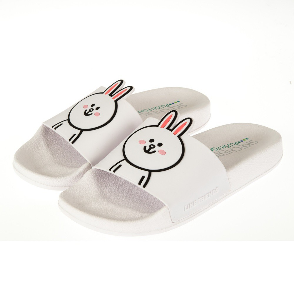 SKECHERS 女休閒系列 2ND TAKE LINE FRIENDS 兔兔限定款 - 31644WHT
