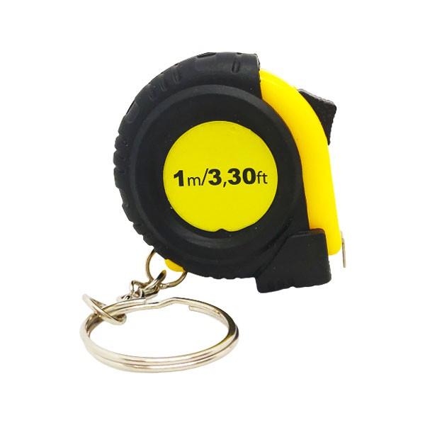 9435 1米捲尺鑰匙圈 隨身測量伸縮量尺鐵鋼捲尺 伸縮鐵捲尺量尺 測量工具五金用品