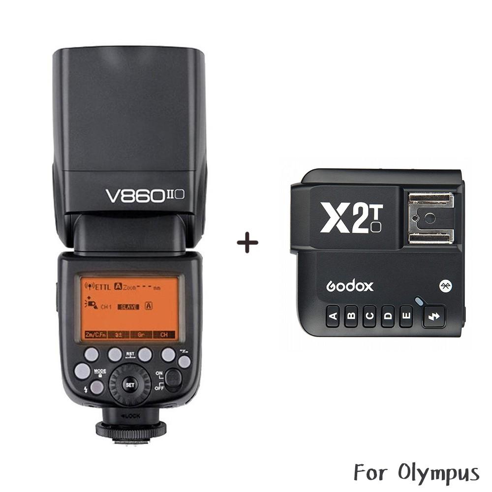 Godox 神牛 V860 O II + X2T 發射器 Olympus 二代鋰電池閃光燈 [相機專家] [開年公司貨]