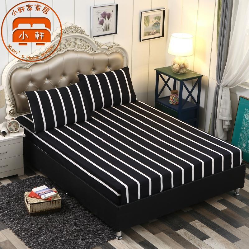 頂級舒柔棉床包組 雙人床包 床單床套 床罩 枕套 枕頭套 裸睡級別 超親膚 雙人加大 防螨抑菌 小軒家家居