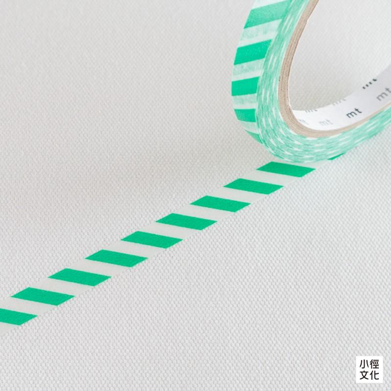 【mt】日本和紙膠帶 mt sealer - 斜紋.綠 ( MTSEA038 )[小徑文化]