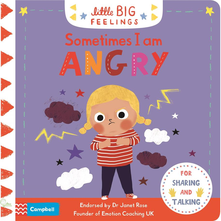 Sometimes I Am Angry (Little Big Feelings)【禮筑外文書店】(硬頁書)[69折]