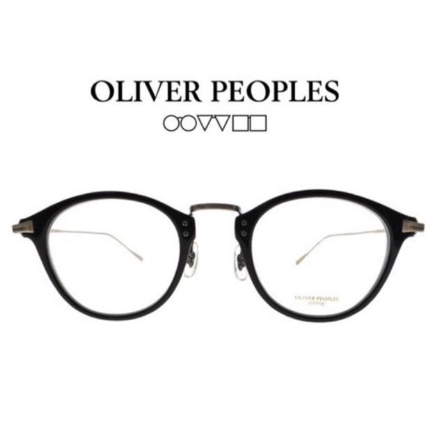 Oliver Peoples 光學眼鏡 CORDING 1005 (黑/霧金) 文青風百搭 光學鏡框【原作眼鏡】
