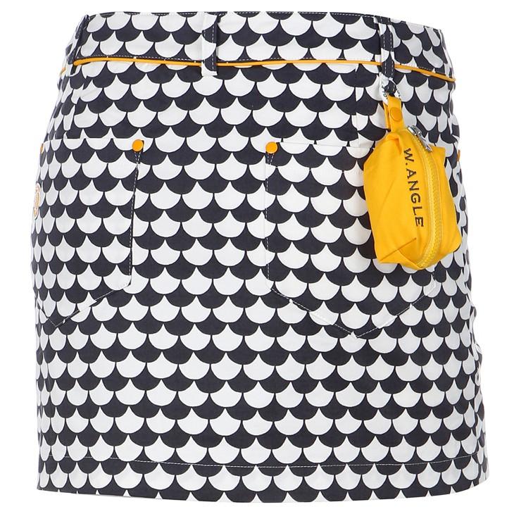 韓國W.angle golf 女性高爾夫裙子/送黃色小球袋