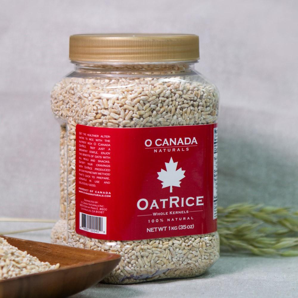 【大加富生】 加拿大進口燕米  脫殼燕麥 高飽足感 高纖 低碳餐 減重 健身 生酮 β-葡聚醣