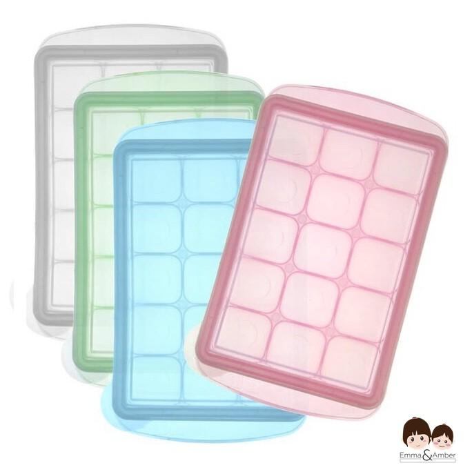 JMGreen 副食品冷凍儲存分裝盒 冷凍盒冰磚盒 M 15g